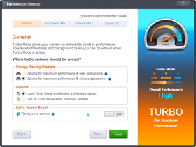 Turbo mode for Slow PC!